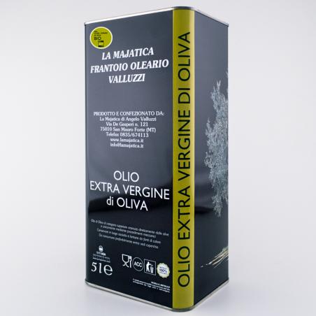 Organic Extra Virgin Olive Oil - 5 L